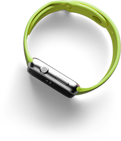 lime green apple watch