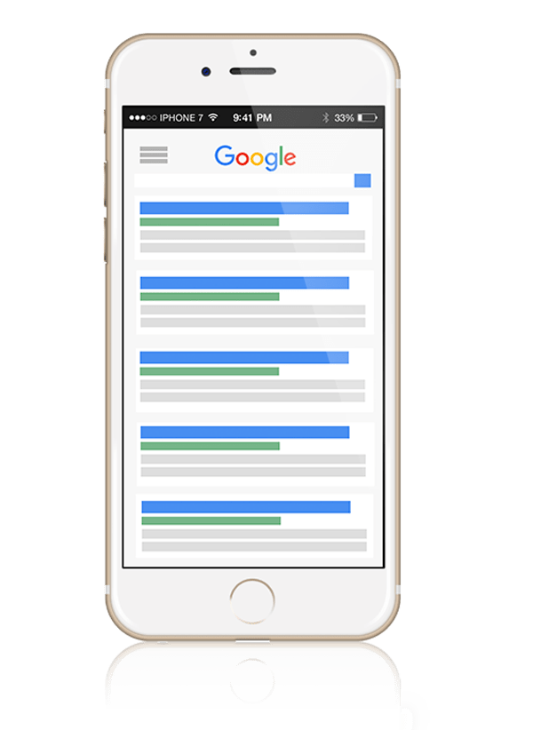 iPhone-seo-page-mockup-of-google-search-results