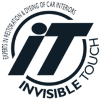 Invisible touch logo